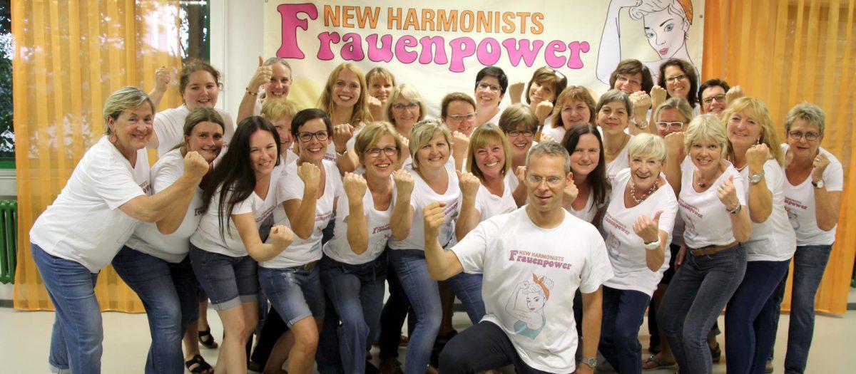 Gratulation Mädels, super gemacht, so wie man die New Harmonists kennt !!